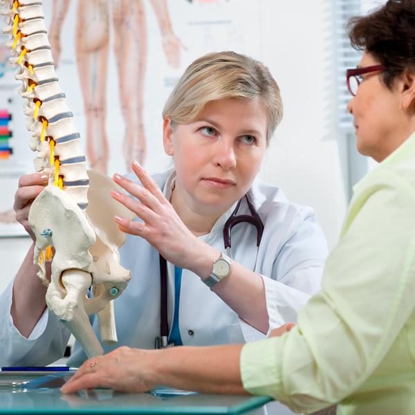 Seksjon for rygglidelse