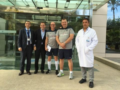 Dr. Ian Beasley - Selección inglesa