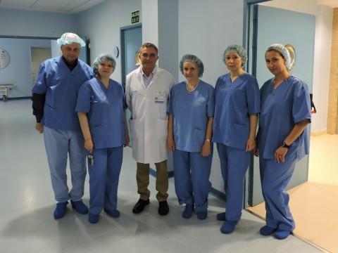 Visita de la planta quirúrgica