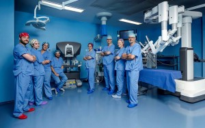 Equipo cirugía robótica IMED Valencia
